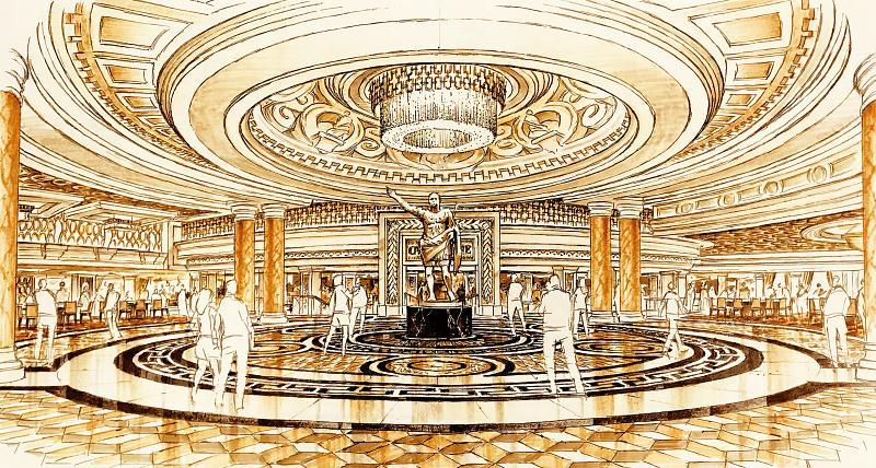 Caesars Palace Unveils Plans for Multimillion-Dollar Main Entrance Renovation