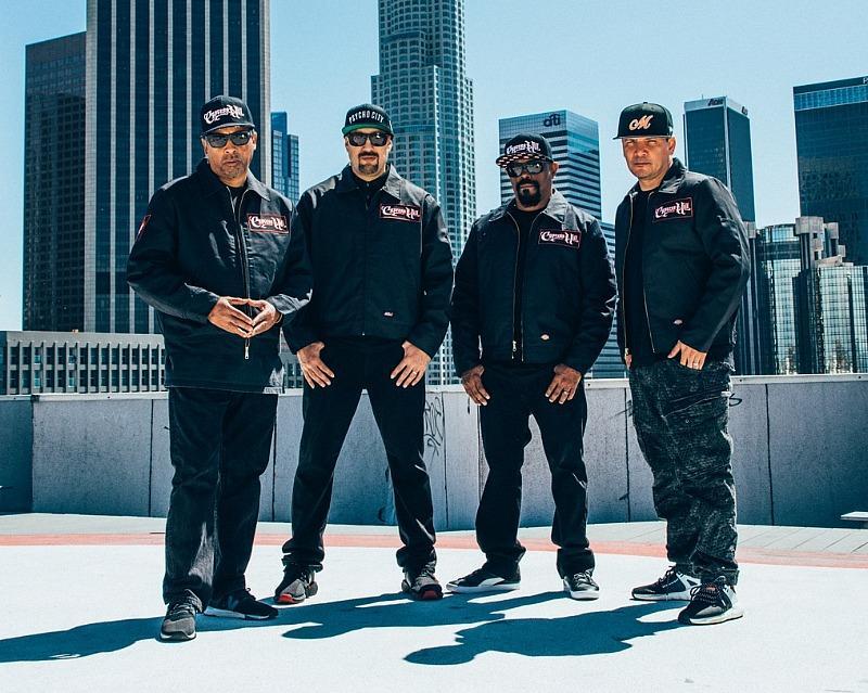 JABM Enterprises Announces Cypress Hill as Live Concert Headliner, August 17, 2021