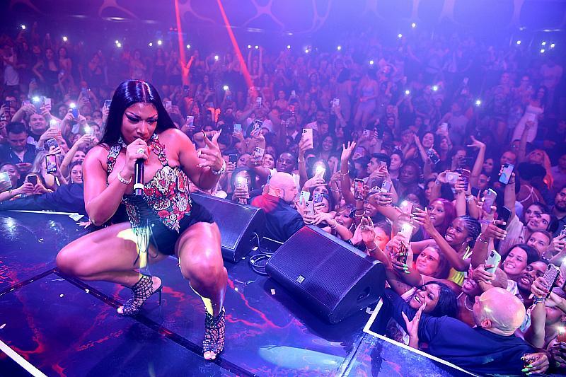 Megan Thee Stallion Throws a Hottie Party at Hakkasan Nightclub in Las Vegas