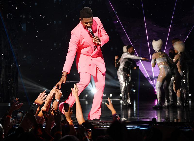 Usher - Photo credit: Denise Truscello
