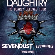 Daughtry to Perform at the Theater at Virgin Hotels Las Vegas on December 5
