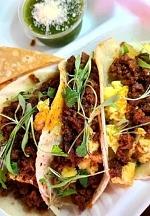 El Gallo Breakfast Burritos Plates Up Texas-Style Breakfast Tacos