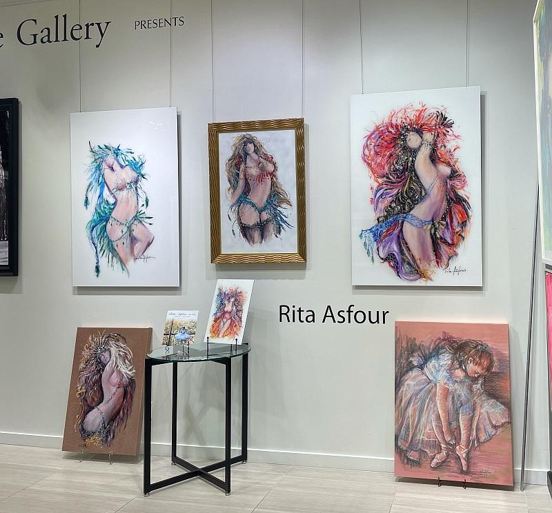 Carnevale Gallery Mourns Loss of International Visual Artist Rita Asfour