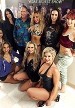 Hollywood Star Jon Lovitz Watches FANTASY, Las Vegas' Iconic Female Revue