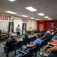 Raiders, Intermountain Healthcare Host Football Clinic for Youth Coaches