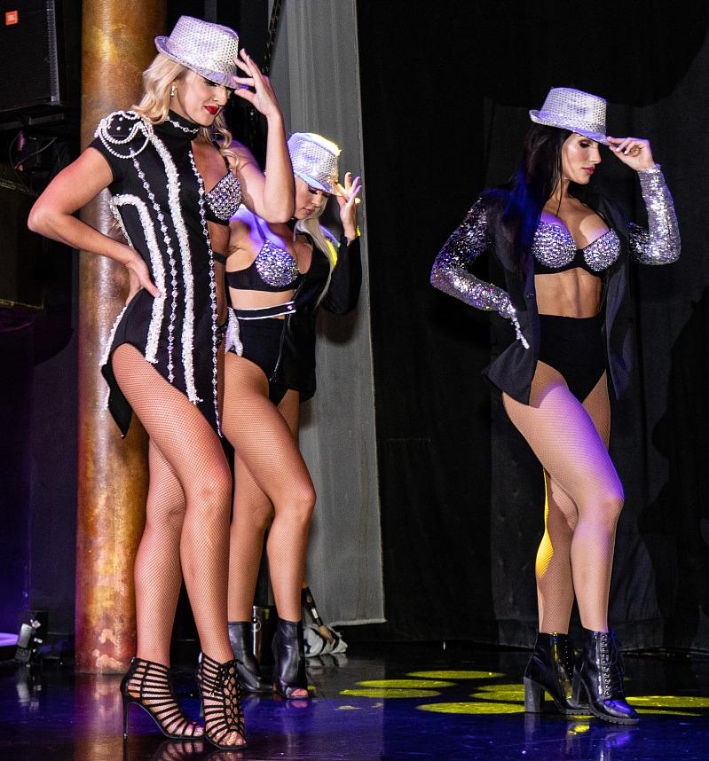 'A Touch of Burlesque' Takes the Stage at Centerfolds Cabaret