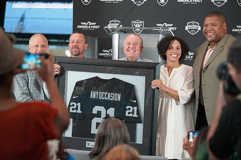 America First Credit Union and Raiders Announce Winner of the Small-Business Showcase