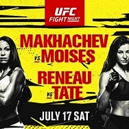 Pivotal Lightweight Bout between (#9) Islam Makhachev and (#14) Thiago Moises Headlines at UFC Apex in Las Vegas