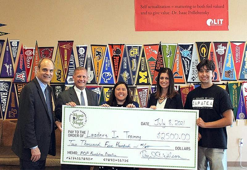 Silver State Schools CU People Over Profit (POP) Foundation Donates $2,500 to Leaders In Training