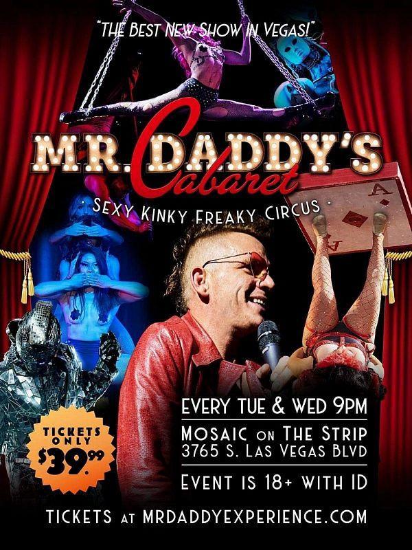 """Mr. Daddy's Cabaret"" Pushes Scandalous Boundaries of Las Vegas Entertainment"