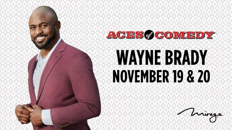 The Mirage 'Makes a Deal' with Multi-Emmy Award Winner Wayne Brady to Join Aces of Comedy November 19 – 20