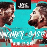 Top 10 Middleweights Collide at UFC Apex Saturday, August 21