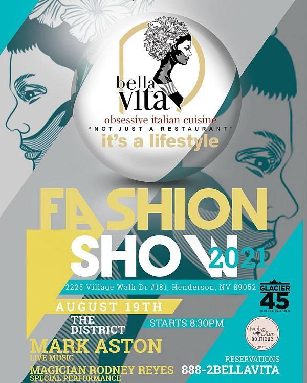 Bella Vita Fashion Show with Haute Chix Boutique