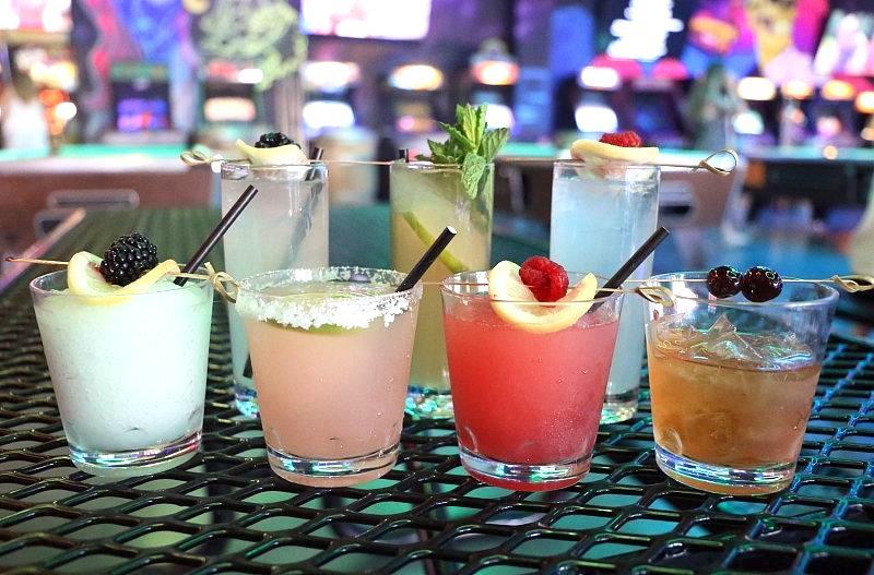 Emporium Arcade Bar Las Vegas Announces New Draft Cocktails and Slushies Menu