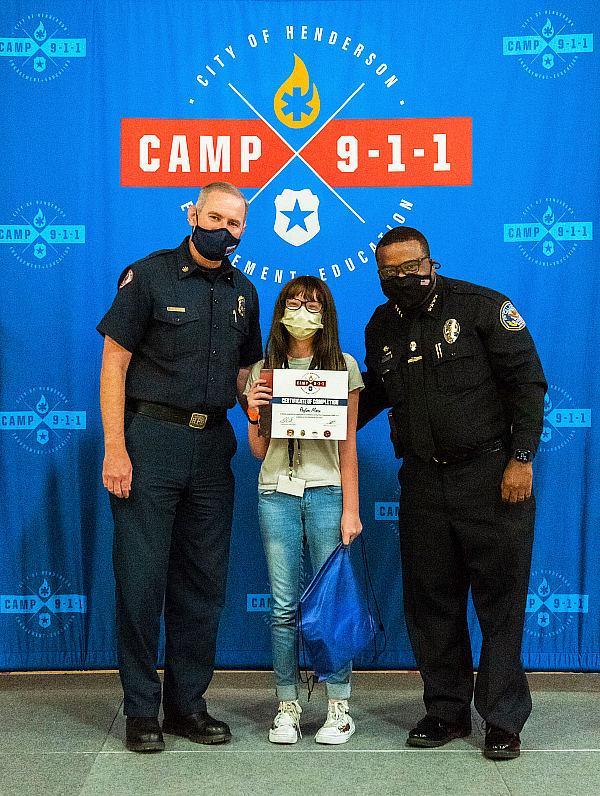 Camp 911 Graduation