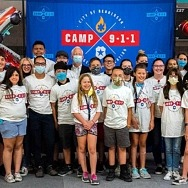 Middle School Students Graduate from City of Henderson's Inaugural Camp 911 Program