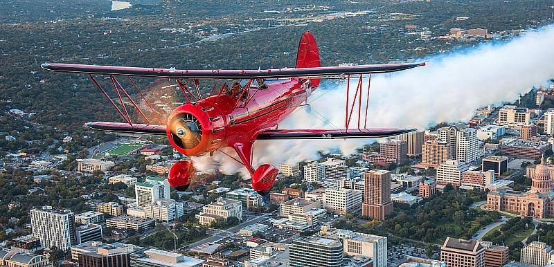 Sky Combat Ace Las Vegas Adds Open Cockpit Biplane to Fleet