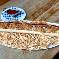 Hofbräuhaus Las Vegas to Offer Two-Foot-Long Bratwurst Special on National Bratwurst Day