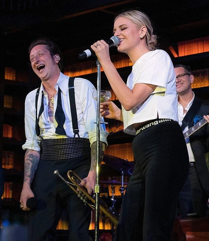 """Kelsea Ballerini Surprises Guests at """"Brian Newman: AFTER DARK"""" at NoMad Library"""