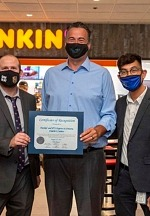 Arizona Charlie's Welcomes PT's Express and Dunkin' with Ribbon Cutting Ceremony