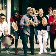 Grammy-Nominated Afro-Rican Band Plena Libre Performs at Water Street Plaza Amphitheater on Saturday, August 14