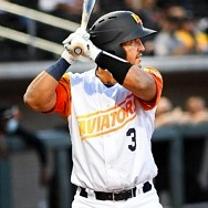 Las Vegas Aviators Catcher/INF/OF Carlos Pérez Named Triple-A West Player of the Week (August 16-22)