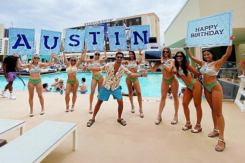Austin North Birthday at Stadium Swim Circa Las Vegas