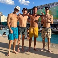 Outer Banks' Star Austin North Celebrates Birthday and Season Two Premiere in Vegas at Circa Resort & Casino