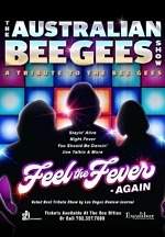 The Australian Bee Gees Show to Celebrate 3,000 Performances on The Las Vegas Strip at Excalibur Hotel & Casino August 5