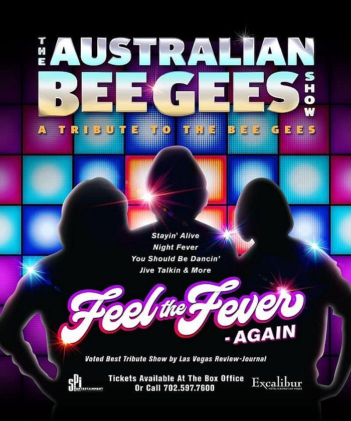 The Australian Bee Gees Show to Celebrate 3,000 Performances on The Las Vegas Street August 5