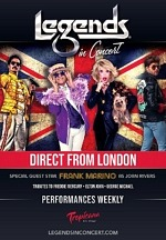Legends in Concert Presents Direct from London - New Production at Tropicana Las Vegas Beginning September 9