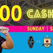"""$5,000 Cash Drop This Weekend! """"The Most Interesting Team in America"""" per Sports Illustrated Gears up for Its Annual Cash Drop"""
