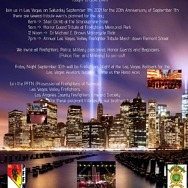 Las Vegas Firefighters Host 20th Anniversary and Tribute Events on September 11th