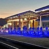 Rail Explorers Las Vegas Illuminates the Rails with Neon Lights Night Tours Available Every Night