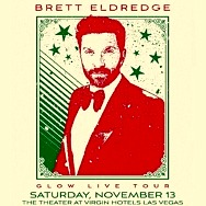 Brett Eldredge Brings His Glow Live Tour to The Theater at Virgin Hotels Las Vegas on November 13