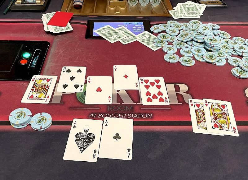 Jackpot: Station Casinos Jumbo Hold 'Em Bad Beat Progressive Pays Out $230,971 to Players
