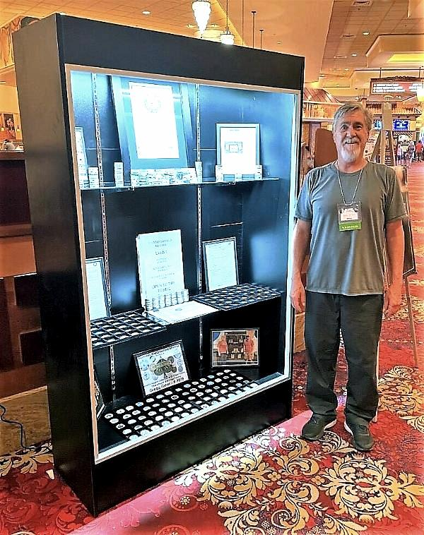 Casino Collectibles Association Member Attempts New Guinness World Record
