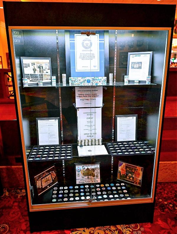 Current Record Holder Gregg Fisher's World Class Casino Chip and Token Collection