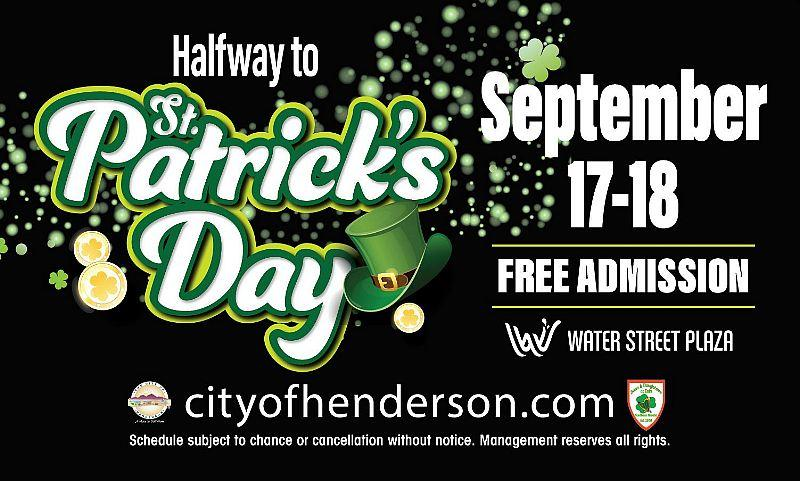 Luck of the Irish Comes to Downtown Henderson During Inaugural Halfway to St. Patrick's Day Celebration