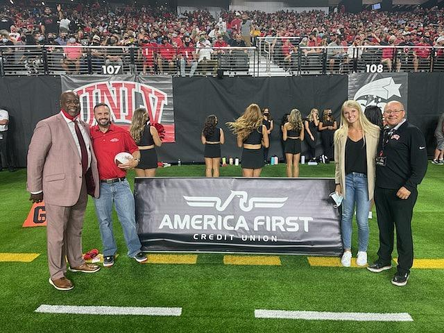 America First Credit Union, UNLV Athletics Team Up to Thank Community Support Front-line Staff with Free Tickets to UNLV Football Game