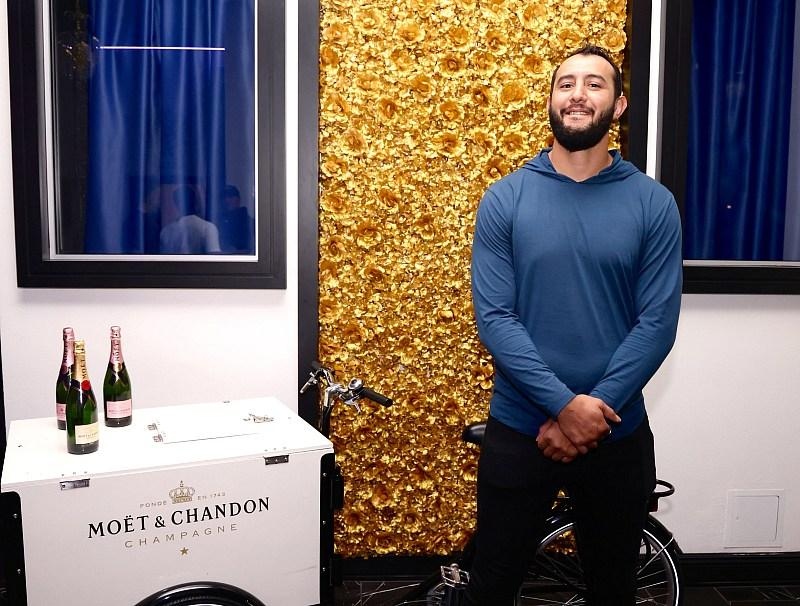 Dominick Reyes poses for a photo. (Photo credit: DDWPIX)