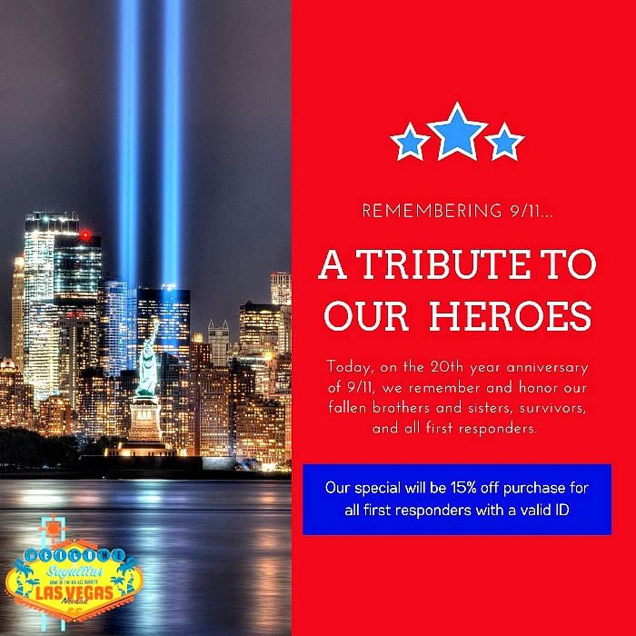All New Salyulitas Mexican Restaurant is Offering 15% off for all First Responders on 9.11