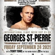 Former MMA Superstar Georges St. Pierre to Host International Fight Week Party at On The Record Speakeasy and Club at Park MGM Sept. 24