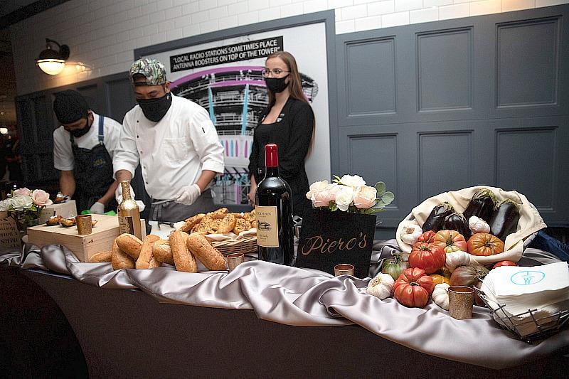 Piero's Food Display