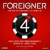 Foreigner Headlining Las Vegas Residency Coming to the Venetian Resort March 25 – April 9, 2022