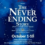 """Tickets Available forRainbowCompanyYouth Theatre's Production of """"The Neverending Story"""""""