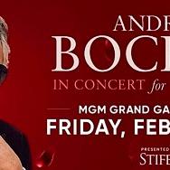 Andrea Bocelli Announces Annual in Concert for Valentine's 2022 US Tour Dates