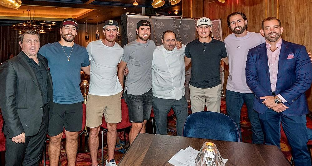 Barry's Downtown Prime, the Official Steakhouse of the Vegas Golden Knights