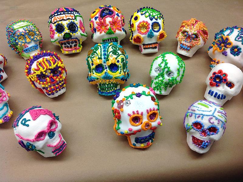 Sugar Skulls Workshop