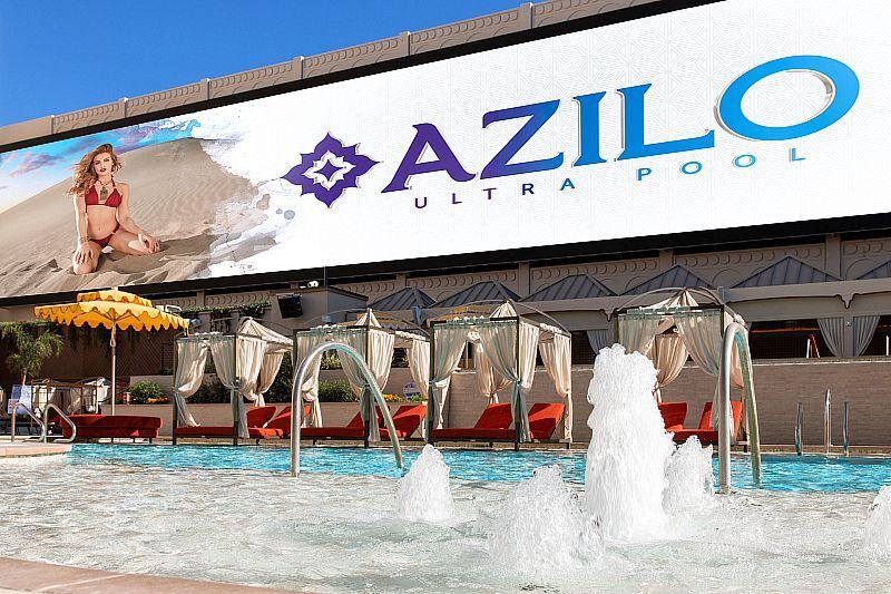 Azilo Ultra Pool Makes a Splashing Debut at Sahara Las Vegas This Labor Day Weekend
